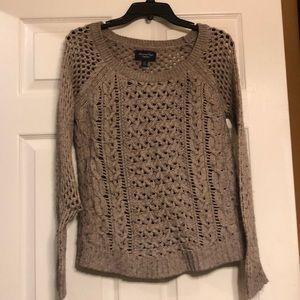 American Eagle Taupe Sweater
